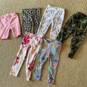 Various Pattern Leggings / Pants / Shorts Bundle
